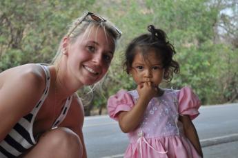 Petite Salvadorienne.